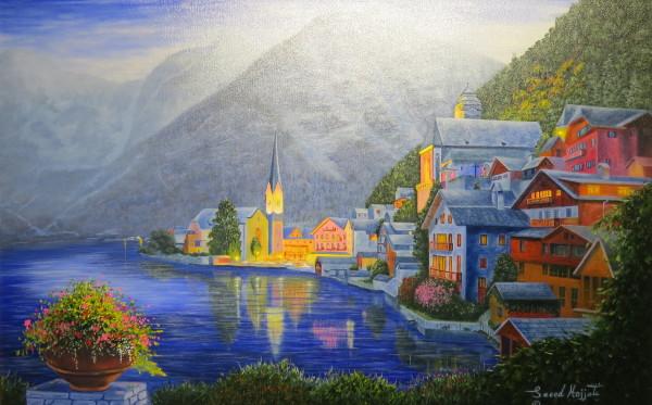 A Glance of Hallstatt, Austria
